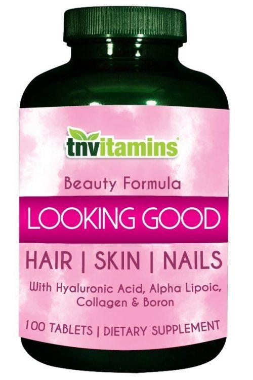 Vitamins For Hair, Skin and Nails - Looking Good