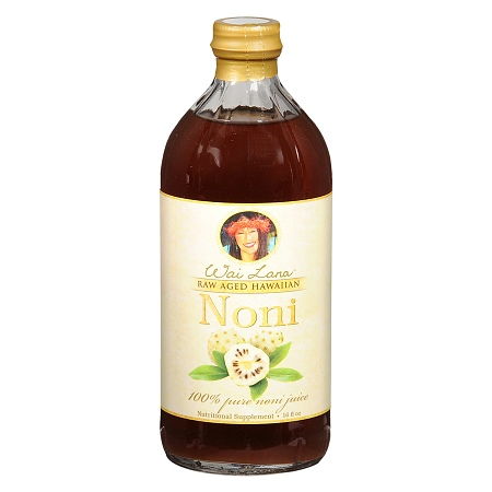 Wai Lana Raw Aged Hawaiian Noni Juice Nutritional Supplement - 16 oz.