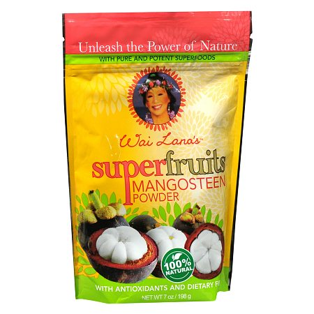 Wai Lana Super Fruits Powder Dietary Supplement Mangosteen - 7 oz.