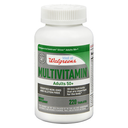Walgreens Adult 50+ Multivitamin - 220 ea