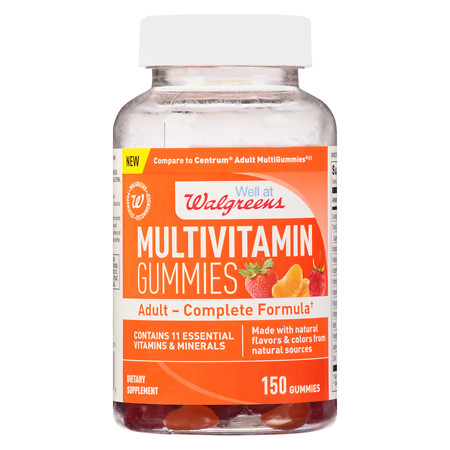 Walgreens Adult Multivitamin Gummies - 150 ea