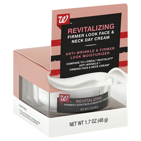 Walgreens Beauty Firm Face & Neck Day Cream - 1.7 oz.