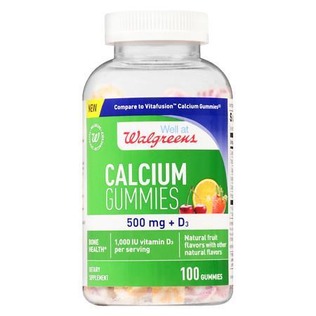 Walgreens Calcium Gummies - 100 ea