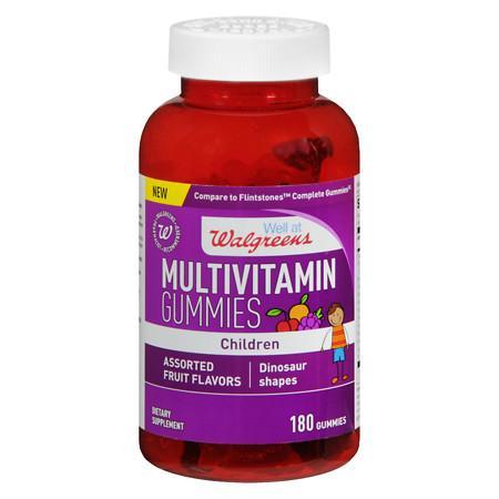 Walgreens Children's Multi Gummies With Vitamin D Fruit - 180 ea