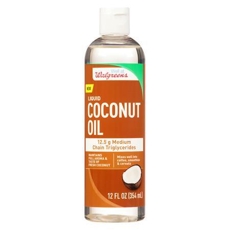 Walgreens Coconut Oil - 12 oz.