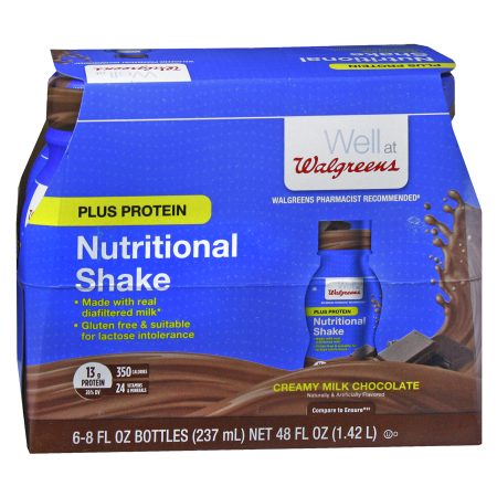 Walgreens Complete Nutritional Shake Plus Protein Milk Chocolate - 8 oz.