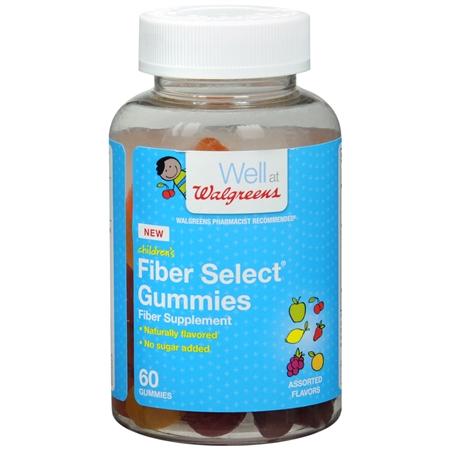 Walgreens Fiber Assorted - 60 ea