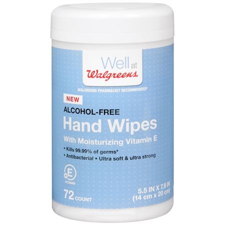 Walgreens Hand Wipes - 72 ea