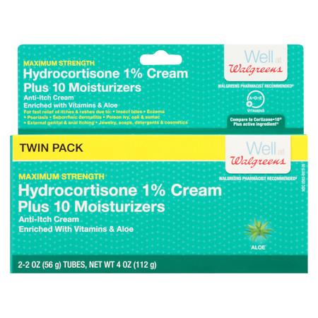Walgreens Hydrocortisone Plus Cream - 2 oz.