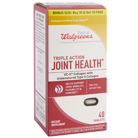 Walgreens Joint Health UCII-BS - 40 ea