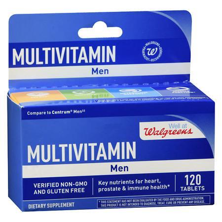 Walgreens Men's Multivitamin - 120 ea