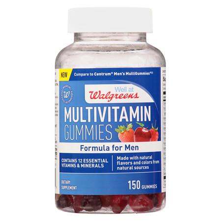 Walgreens Men's Multivitamin Gummies - 150 ea