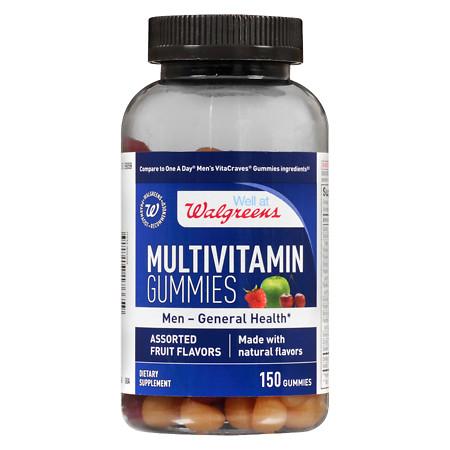 Walgreens Men's Multivitamin Gummies Fruit - 150 ea