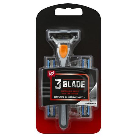 Walgreens Men's Triple Blade Razor - 1 ea