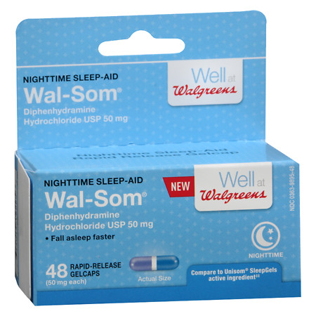 Walgreens Quick-Gel Tablets 50MG - 48 ea