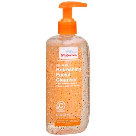 Walgreens Refresh Facial Cleanser - 8 oz.