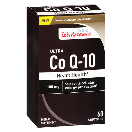 Walgreens Ultra CoQ10 100 mg Softgels - 60 ea
