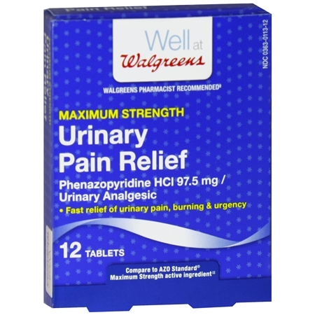 Walgreens Urinary Pain Relief Tablets - 12 ea.
