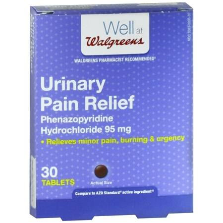 Walgreens Urinary Pain Relief Tablets - 30 ea
