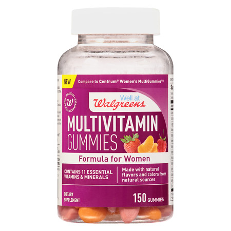 Walgreens Women's Multivitamin Gummies - 150 ea