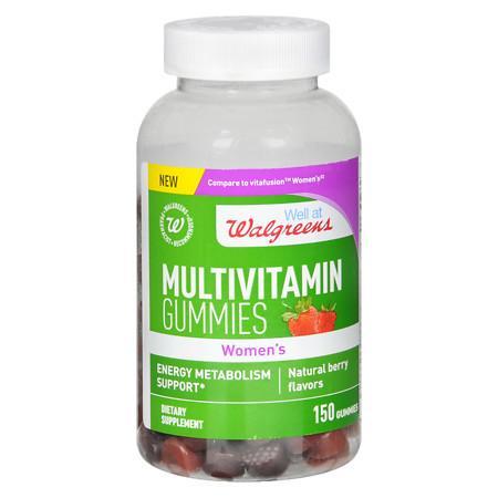 Walgreens Women's Multivitamin Gummies Berry - 150 ea