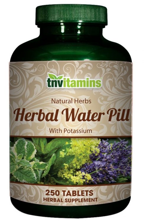 Water Pill Herbal Formula With Potassium