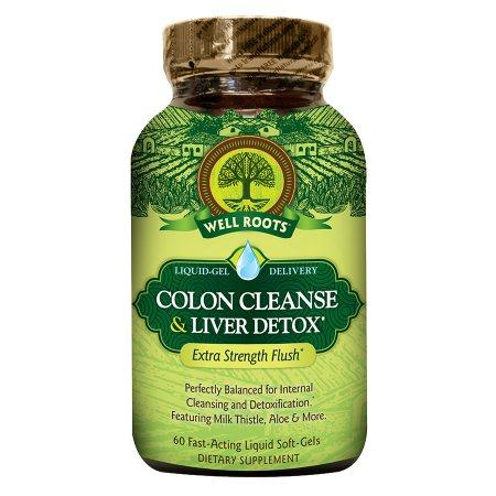 Well Roots Colon Cleanse & Liver Detox, Softgels - 60 ea