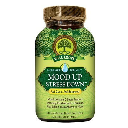 Well Roots Mood Up Stress Down, Softgels - 60 ea