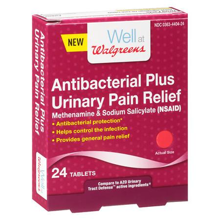 Well at Walgreens Antibacterial Plus Urinary - 24 ea