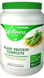 Wellness Code™ Plant Protein Complete & Amino Acid Complex, 450 g (0.99 lb or 15.87 oz.)