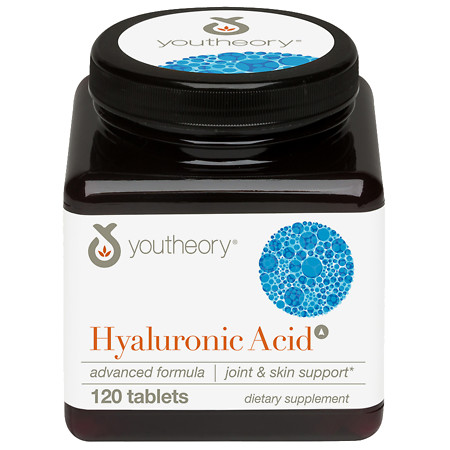 Youtheory Hyaluronic Acid Advanced Formula Joint Cushioning, Tablets - 120 ea