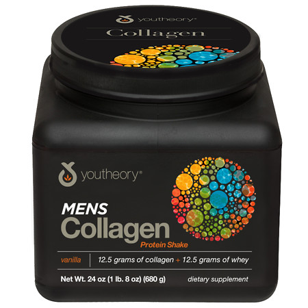 Youtheory Mens Collagen Protein Shake - 24 oz.