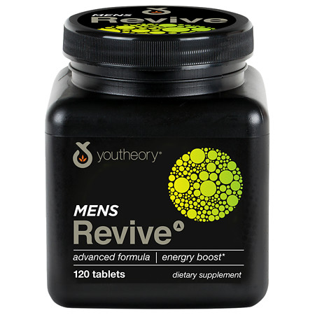 Youtheory Mens Revive Advanced Formula - 120 ea