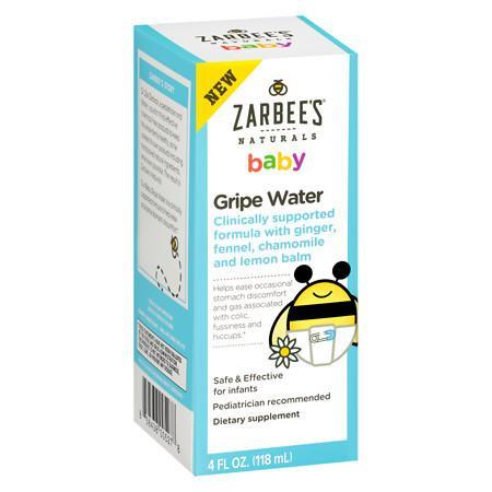 ZarBee's Naturals Baby Gripe Water - 4 oz.