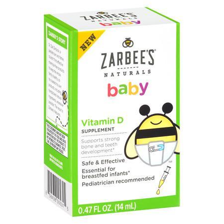 ZarBee's Naturals Baby Vitamin D - 0.5 oz.