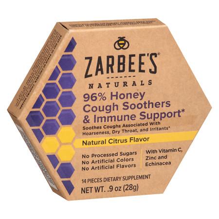 ZarBee's Naturals Immune Soothers Natural Citrus Flavor - 1 ea