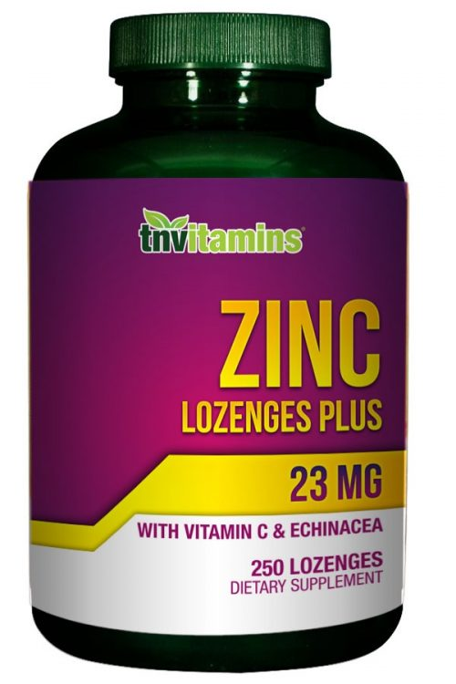 Zinc Lozenges 23 Mg Plus