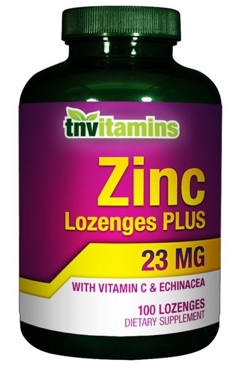 Zinc Lozenges Plus 23 Mg