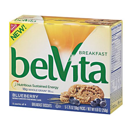 belVita Breakfast Biscuits Blueberry - 1.76 oz.
