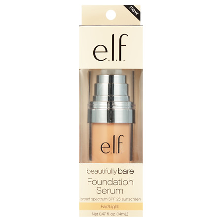 e.l.f. Beautifully Bare Foundation Serum SPF 25 - 0.47 oz.