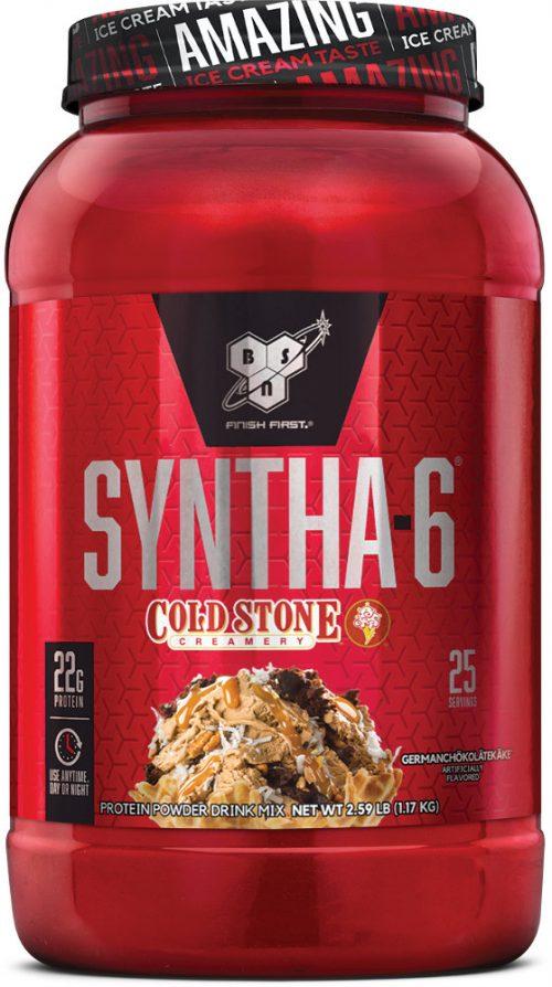 BSN Syntha-6 - Cold Stone Creamery 2.59lbs GERMANCHÖKOLÄTEKÄKE