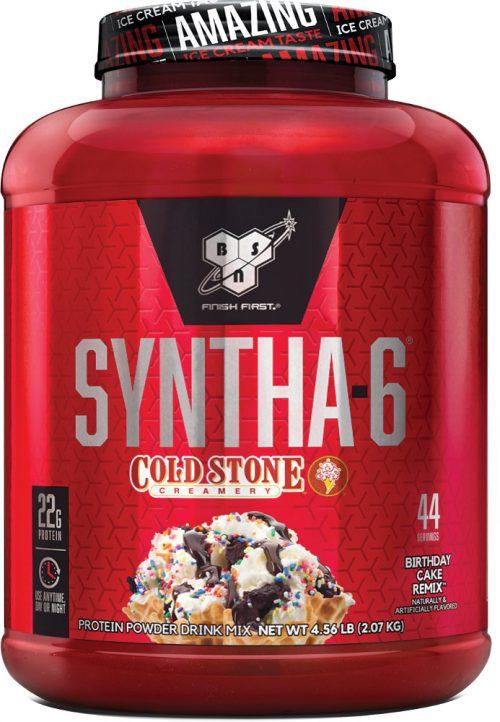 BSN Syntha-6 - Cold Stone Creamery 4.56lbs Birthday Cake Remix