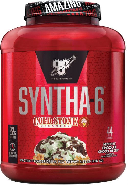 BSN Syntha-6 - Cold Stone Creamery 4.56lbs Mint Mint Chocolate Chocola