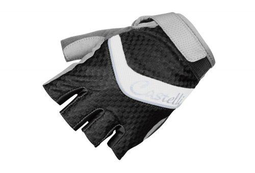 Castelli Elite Gel Glove - Women's - black/white/silver, small