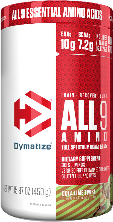 Dymatize ALL 9 AMINO - 30 Servings Cola Lime Twist