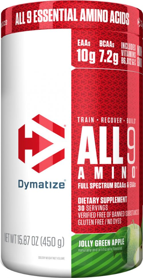 Dymatize ALL 9 AMINO - 30 Servings Jolly Green Apple
