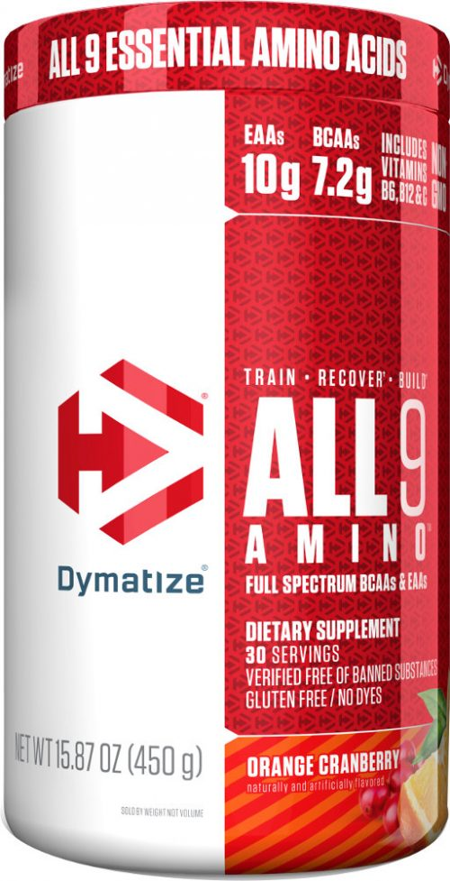 Dymatize ALL 9 AMINO - 30 Servings Orange Cranberry