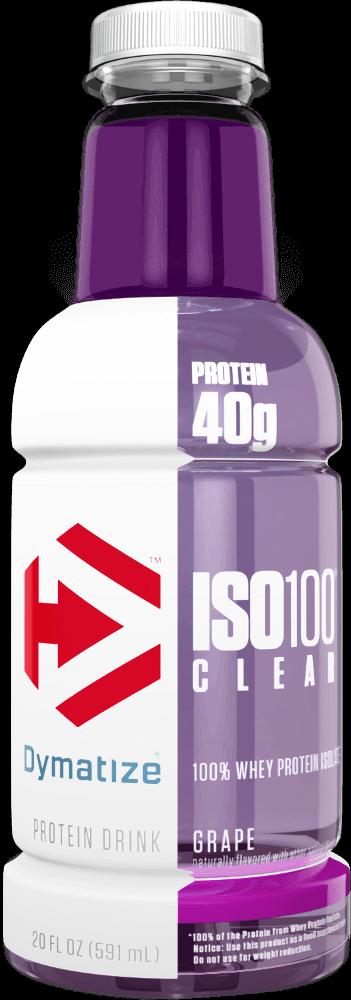 Dymatize ISO100 Clear - 1 Bottle Grape