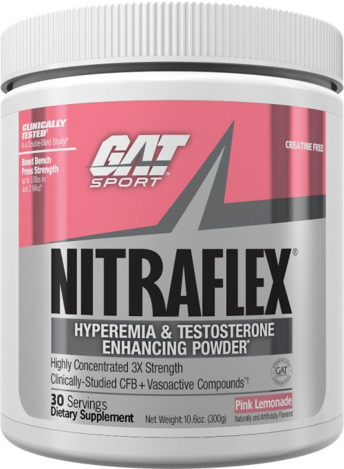 GAT Sport Nitraflex - 30 Servings Pink Lemonade