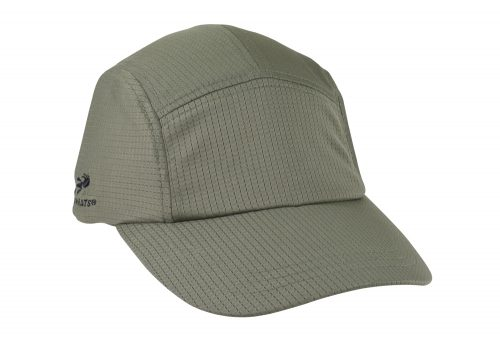 Headsweats Race Hat - olive grid, one size